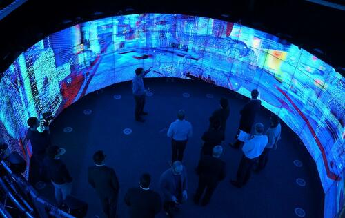 Meet the 21st century microscope: A peek into the Monash CAVE2 immersive visualization facility powered by NVIDIA