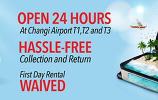 Traveling? Get portable Wi-Fi routers for overseas use before departure at Changi Recommends