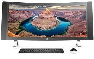 HP thinks big and curvy with its new 34-inch AIO desktop PC