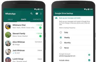 WhatsApp users can backup chat history to Google Drive in the next few months