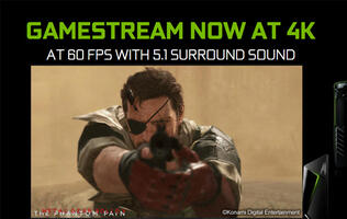 GeForce Experience now broadcasts at Full HD at 60 FPS, GameStream also supports 4K streaming