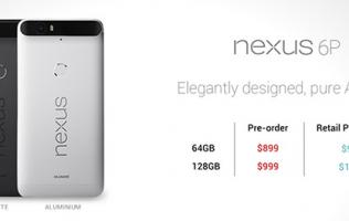 An online retailer to start pre-orders for Huawei Nexus 6P at the end of Oct?