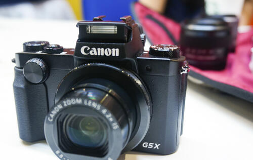 "First looks: Canon's PowerShot G5 X with a 20MP 1"" sensor and built-in EVF"