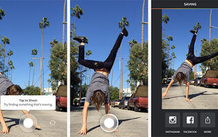 Watch your birthday candles come back to life with Instagram's new Boomerang app
