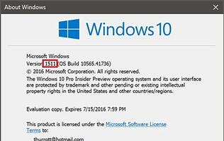 Rumor: Windows 10 update, codenamed 'Threshold 2', will be released by November this year