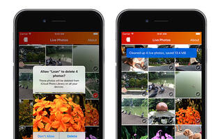 Lean app cleans up your Live Photos to save space