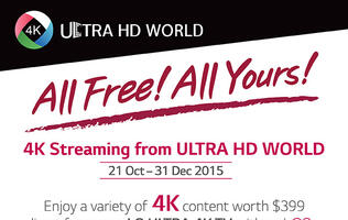 Select LG 4K TVs to get free 4K content streaming till end of year