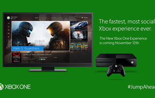 Xbox One to get its Windows 10 update on November 12