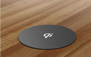 ZENS' Qi add-on turns your desk into a wireless charger