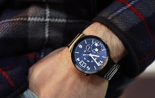 In pictures: The luxurious Huawei Watch