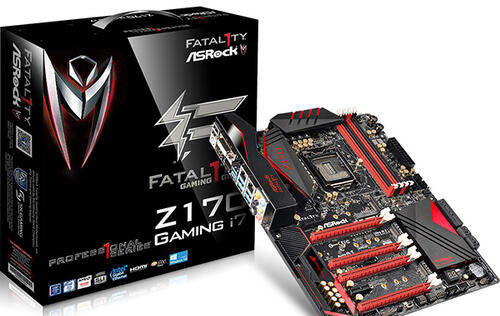 The ASRock Fatal1ty Z170 Professional Gaming i7 has more connectivity options than you can use (Updated)