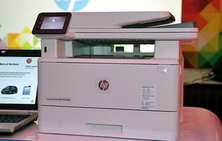HP's latest LaserJets are all about performance and security