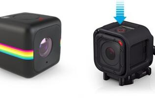 Polaroid sues GoPro over the design of its Hero4 Session camera