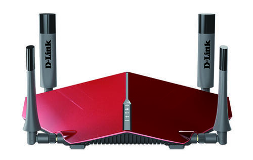 D-Link's new DIR-885L router offers speeds up to 3150Mbps, still looks like it came from outer space