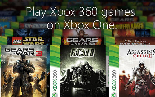 New Xbox One update brings Xbox 360 backwards compatibility