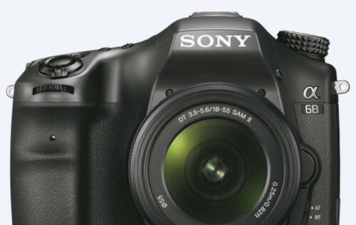 Sony's latest SLT camera features the world's highest number of phase-detect AF points