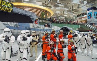 In pictures: The Force awakens at Changi Airport's Star Wars display