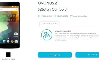 You can now buy a OnePlus 2 smartphone from Singtel!