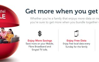 Singtel rewards loyal users with free mobile data and other perks