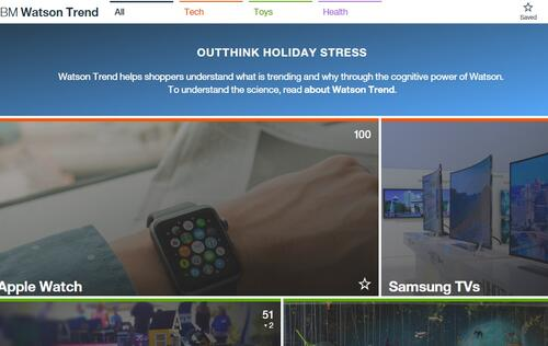 IBM Watson Trend wants to take the stress out of holiday shopping