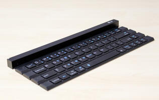 First looks: The LG Rolly is a Bluetooth keyboard that rolls up