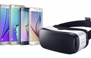 The Samsung Gear VR is the cheapest VR headset ever that's not made of cardboard