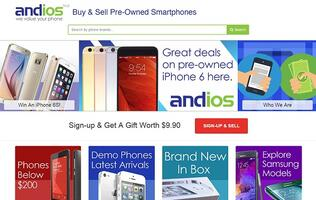 An online marketplace dedicated to smartphones? Andios is poised to offer easy and credible transactions for you