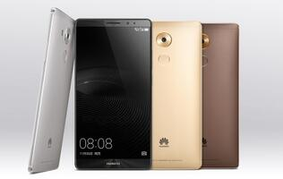 Huawei unveils 6-inch Mate 8 with Kirin 950 octa-core chip and Android 6.0