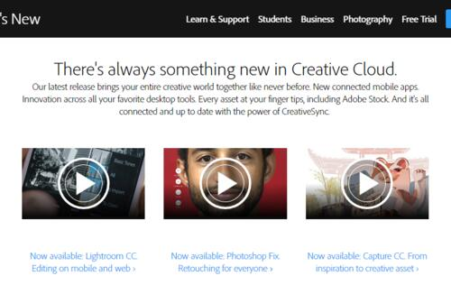 Adobe ships huge updates to Creative Cloud 2015