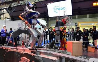 Japan's disaster-response robots could save lives in the future