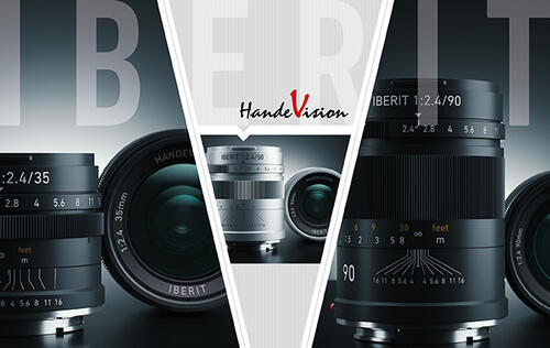 HandeVision announces a new series of compact full-frame lenses for Sony NEX E, Fuji X and Leica M mount cameras.