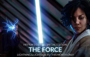 Make your own Star Wars special effects with Hitfilm 3 Express Special Edition