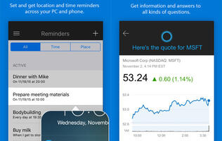 Microsoft's Cortana is now on iOS and Android