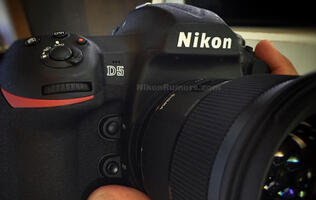 First pictures of the rumored Nikon D5?