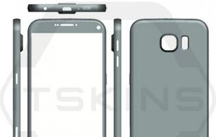 Leaked renders of Samsung Galaxy S7 and S7 Plus reveal possible dimensions