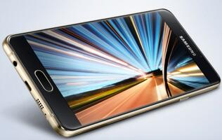 Samsung's new Galaxy A9 (2016) has a 6-inch 1080p display and a 4,000mAh battery