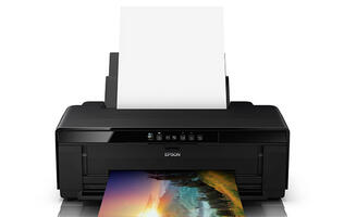 The Epson SureColor P407 is an A3+ printer designed for photography enthusiasts