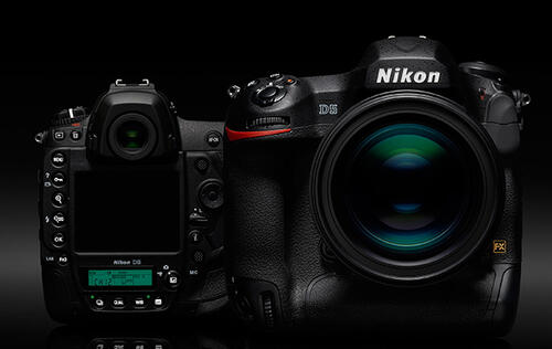 Nikon's flagship D5 DSLR revealed: 20MP at 12fps, 4K video, new autofocus and more