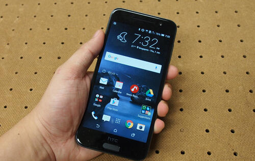 In pictures: The new HTC One A9 smartphone