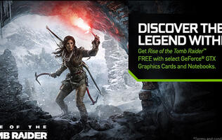 NVIDIA and Square Enix team up to bundle Rise of the Tomb Raider with new GPUs