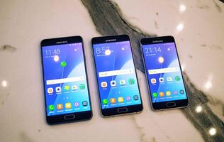 Samsung's 2016 A series phones bring flagship looks and features at mid-range prices