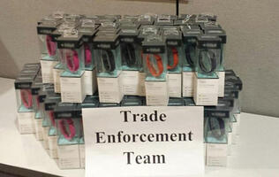 US Customs seized US$35,000 worth of fake Fitbits