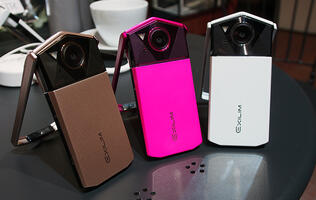 Hands-on: Casio's EXILIM TR70 is likely the best selfie camera you can buy today