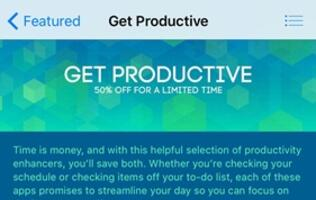 50% discount on 14 productivity apps on Apple App Store; get them before the sale ends!