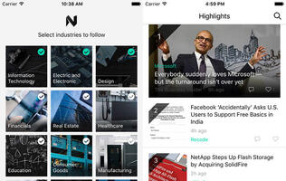 News Pro is another new iOS-only app from Microsoft