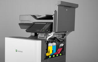 Lexmark's 57ppm CX860 multi-function A4 laser printer is designed to rival more expensive A3 models