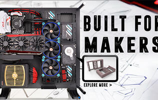 Thermaltake launches 3DMakers website with 3D-printable accessories for its PC cases