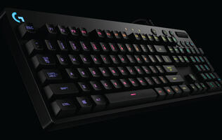 Logitech's new G810 Orion Spectrum is a performance-driven mechanical keyboard