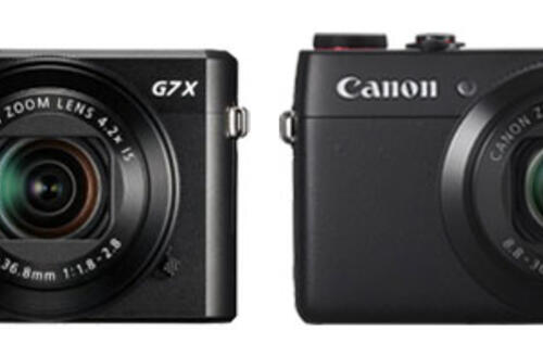 Leaked: Pictures of Canon's PowerShot G7X Mark II and SX720 HS