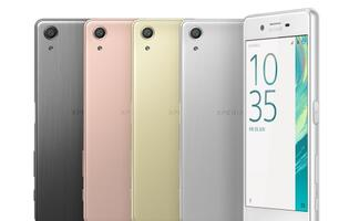 Meet the new Sony Xperia X Performance, X and XA smartphones
